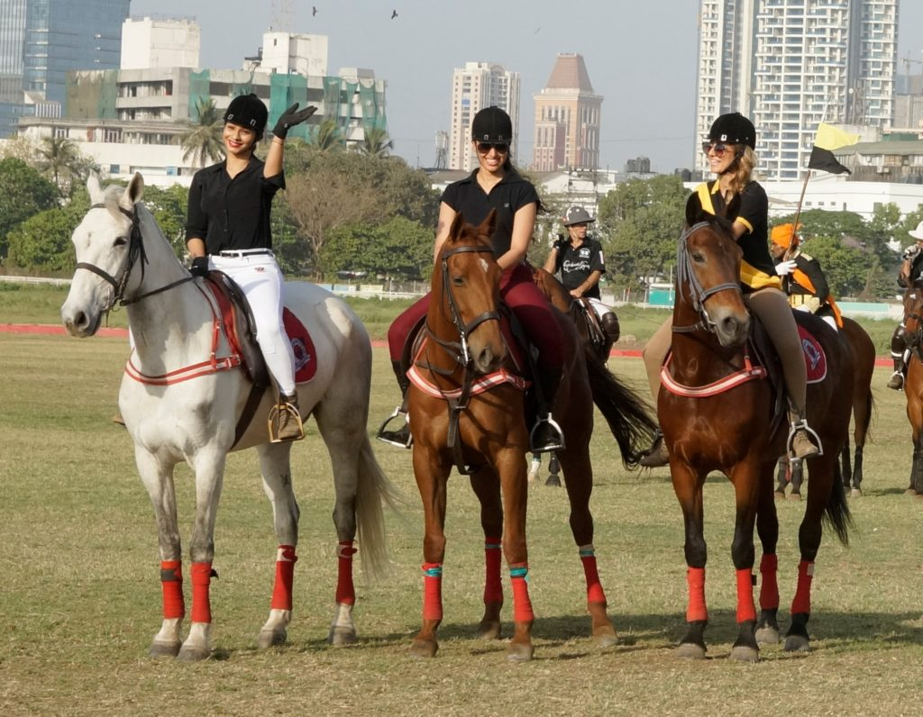 Anusha Dhandekar, Tanisha Mukherjee, Namrata Purohit at Amateur Riders' Club