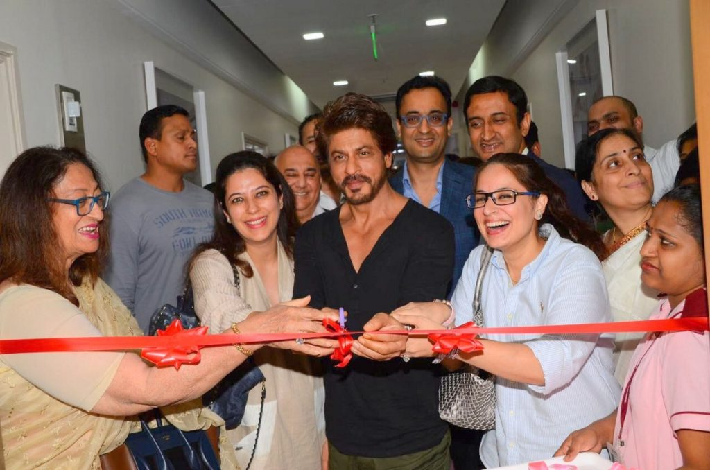 Srk at inauguration of Bone Marrow Transplant Centre (5)