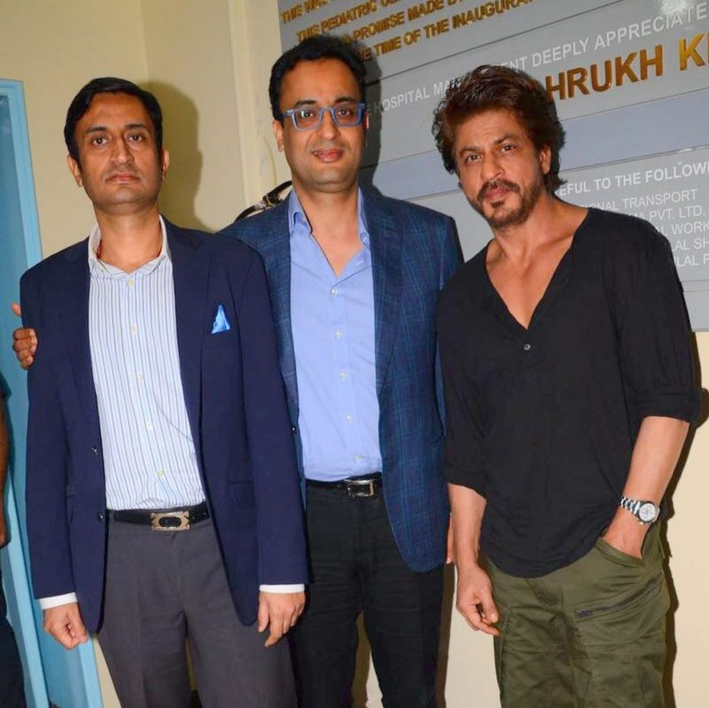 Srk at inauguration of Bone Marrow Transplant Centre (9)