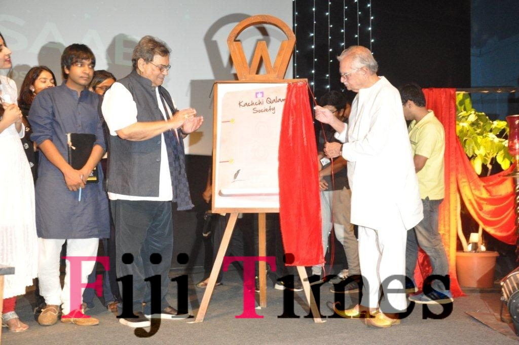 Subhash Ghai and Gulzar