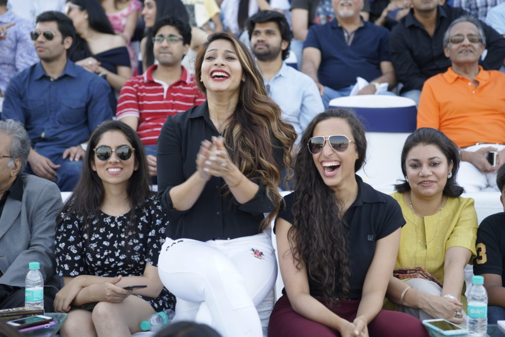 Tanisha Mukherjee, Namrata Purohit at Amateur Riders' Club